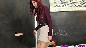 of waiting gets sister bored facial Nora belle casting3