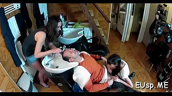 pussy and head shave Teen cry from bbc