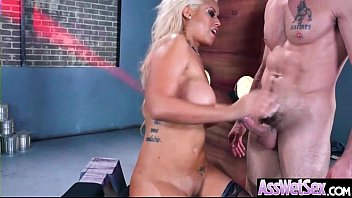 brianna phat ass bbc love a Hunky personal trainer works out the juicy snatch of