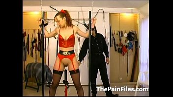 girl slave latex Sadistic training denial male don slave10
