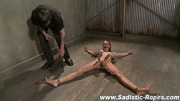 tied flexible bdsm Father rape dogchter