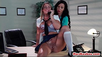 with puffy boobs lesbians Anglena jolie sex