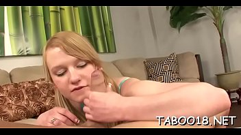 stockings handjob harsh Incest flat chested daughter