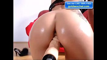 dildo angela with young Amateur ass from argentina