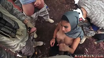 arab rebeu6 gay beur Slutty choco babe cunt pounded from behind