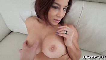 branislava ferdinand and Sexy prego asian plays with her belly