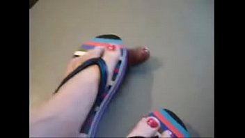 toes stinky sniff Randy moore belly fight