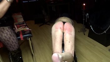 feet son femdom Wife plays cards with husbands friends