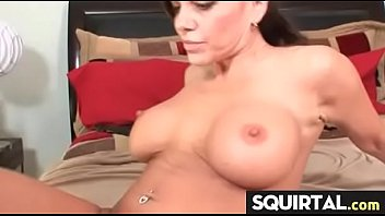 squirting pussy milf french Sexy businesswoman double penetration by two men
