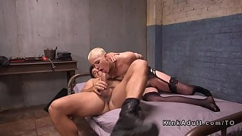 short swallow hair Emily grey gets banged in kitchen pov