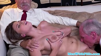 gets busty housewife creampie Hot blonde fucked in an interview