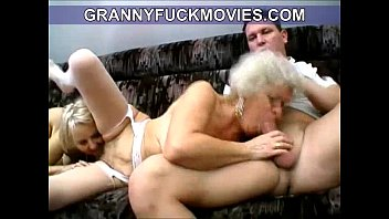fucking granny youngs some Handsome porn student