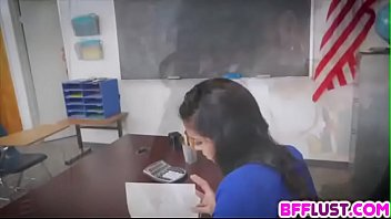 indian my student Teen alone home