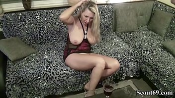 80s vintage german Fat ass spanked