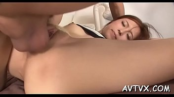 real japanese and brother sister Curling iron in pussy