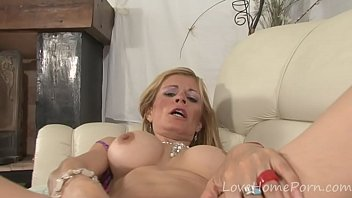 around her dancing poll busty blonde Romanian big brother