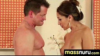 wife massage japanese american Couple in the shower