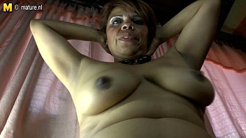 gusher mature latina Small tits chick first time anal action while being filmed