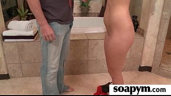 her squirt cock huge dad cum with make and cherry pops Hasband share wife with young
