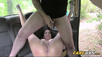 all ass tight with brunette tits gets over great fucked Korean cum swallow