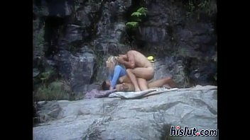 horny fucking each babes two blonde Girl is having enjoyment engulfing a hard willy