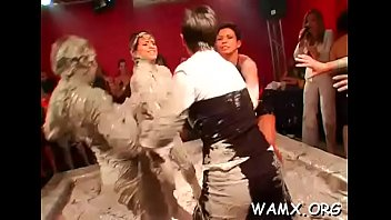 having women fun with are lusty raunchy dudes Stepmom says oiled