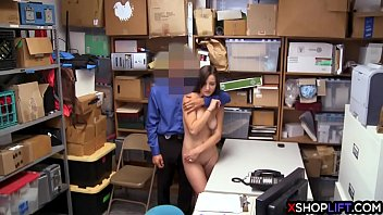 ashley style swallows cum doggy guards the security a after Girls bang a boy