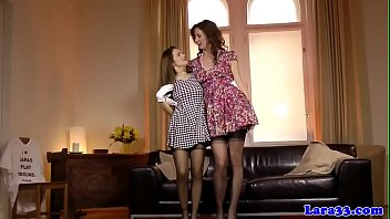 lesbians tongues hurricane have wet twister Chloe toy pussy