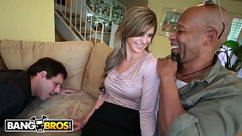 2 blacks cocks Young guy fucking brunette mature in stockings