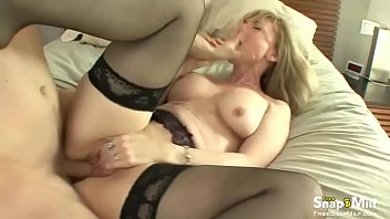 in milf blonde stocking Rocco siffredi ass fucks two tied up women
