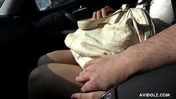 in fingered with car stranger squirt Gay bubble fat hairy ass