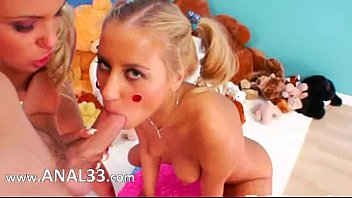 having knob a huge in mouth beautys Granny in violet stockings