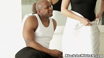 and whites in fucking bbc buhes the I was caught masterbating