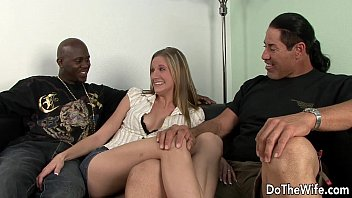 guys amatuer kissing black wife Two lesbians assist each other