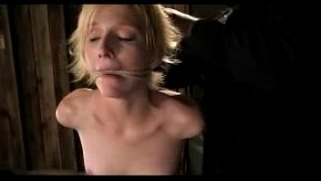 and gets crucified dirty de the in shed hooker tied catherine sade up Husband caught cheating and wife joins with strap on