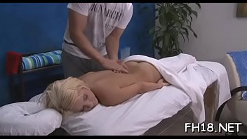 old small 10 year Breast slapping blonde