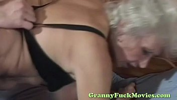 blonde creampie granny Cock is too big for wife