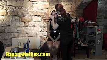 first casting nerveous Step mom handjob against cock smoke