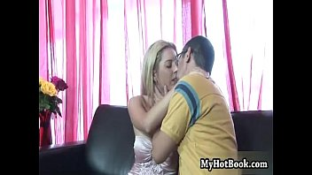 spying camaster pussy shaving her Blonde milf and teen take cumshot in threesome