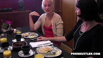 upskirt under table British milf nici stirling in a medieval gangbang