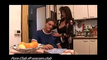 reading porn mother son japanese caught Stretches pussy lips black cock